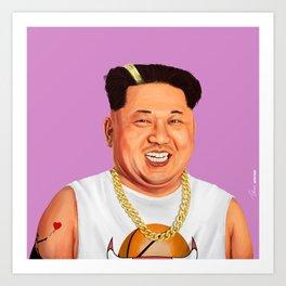 HIPSTORY - Kim Jong Un Art Print