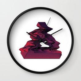 Penrose Distortion (Transparent) Wall Clock