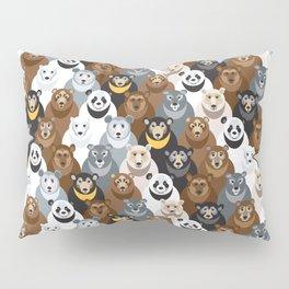 Bears Bears Bears Pillow Sham