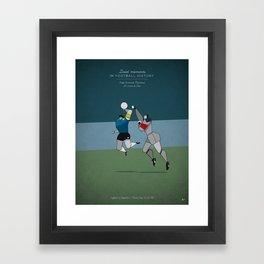 Diego Armando Maradona Framed Art Print