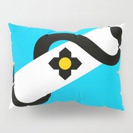 Madison Wisconsin Snake Flag Pillow Sham