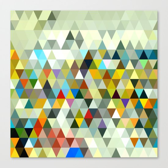 Awesome Triangle Canvas Print