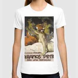 Vintage poster - Aramos Pinto T-shirt