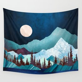 Moon Bay Wall Tapestry