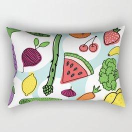 Healthy food Rectangular Pillow