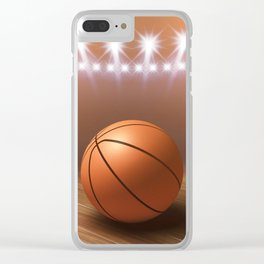 Basketball game Clear iPhone Case