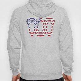 Lacrosse US Flag Head Trio Hoody