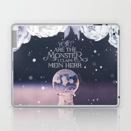 Wintersong - You are the monster I claim Laptop & iPad Skin