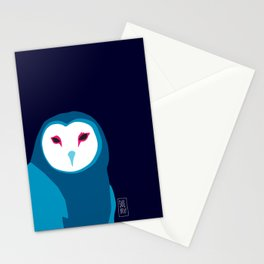 Fancy Owl Stationery Cards