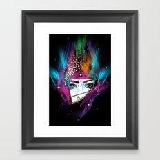 Femina Nebulae Framed Art Print
