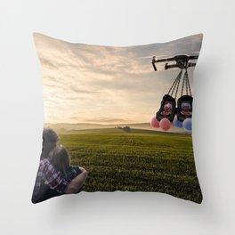 BabyAir Throw Pillow