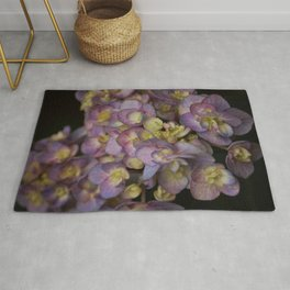 Light Purple Hydrangeas Rug