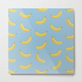 Banana Tunes Metal Print