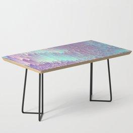 Iridescent Glitches Coffee Table