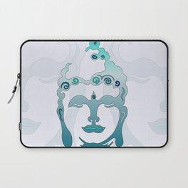 Buddha Head turquoise II Laptop Sleeve