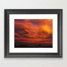 Thus the veil of Maya is a sort of private theater Framed Art Print