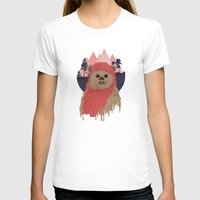 ewok T-shirts featuring Ewok by Robert Scheribel