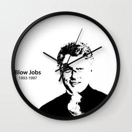 Blow Jobs 1993-1997 Wall Clock