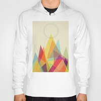 mountain Hoodies featuring Holy Mountain by Picomodi