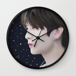 Leo's Starlight Wall Clock