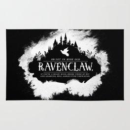 Ravenclaw B&W Rug