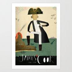 James Cook Art Print
