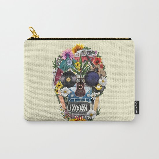 summer skull Carry-All Pouch