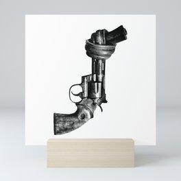 Twisted gun Mini Art Print
