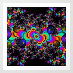 Psychedelic Space Art Print