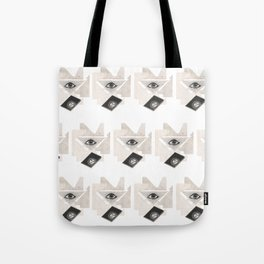 Masonic Rorschach Pattern - The All-Seeing Eye Tote Bag