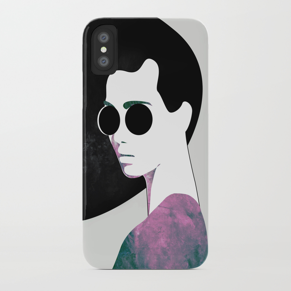Girl With Sun Glasses Phone Case by Heartskippedabeat PCS8273833