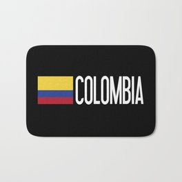 Colombia: Colombian Flag & Colombia Bath Mat