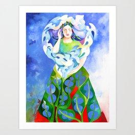 Intuition Art Print