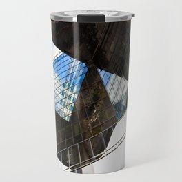 London building abstract  Travel Mug