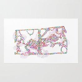 Prismatic Life Maze Rug