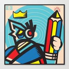 Creative Robot Canvas Print