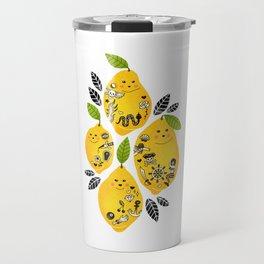 Tattooed Lemons Travel Mug