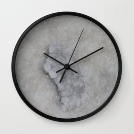 Salty Crystals Wall Clock
