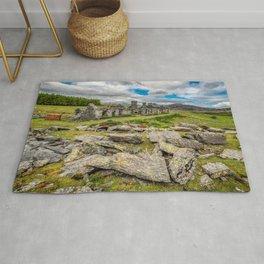 Rhos Quarry Cottages Snowdonia Rug