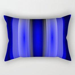 In the blue light Rectangular Pillow