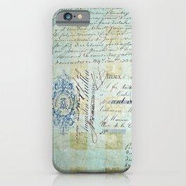 carnet de chèques iPhone Case