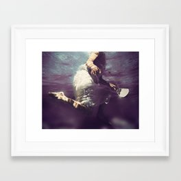 Light My Way Framed Art Print