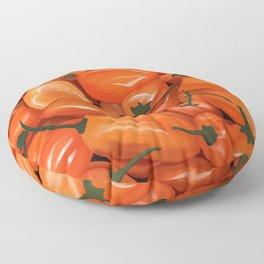 Habanero Peppers Floor Pillow