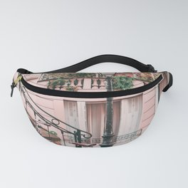 Bike in a Lovely Town Pink City Photography  Fanny Pack