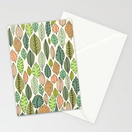 Leaf fall Stationery Cards