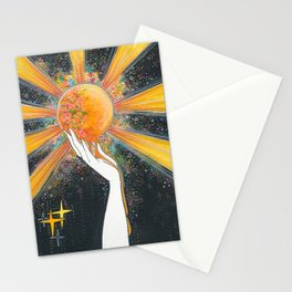 Hold onto your sun Stationery Cards