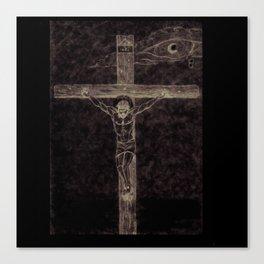 I preach Christ & Christ Crucified Canvas Print