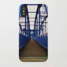 Purple People Bridge iPhone X Slim Case