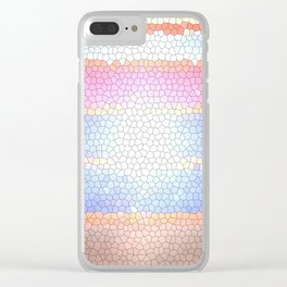 HEX PINK Clear iPhone Case