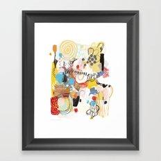 Thrift Store Framed Art Print